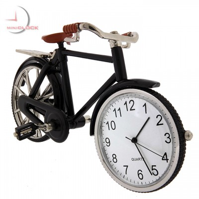 VINTAGE BICYCLE Miniature BIKE Collectible Clock