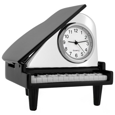 Miniature Clock, Collectible Classic Baby GRAND PIANO