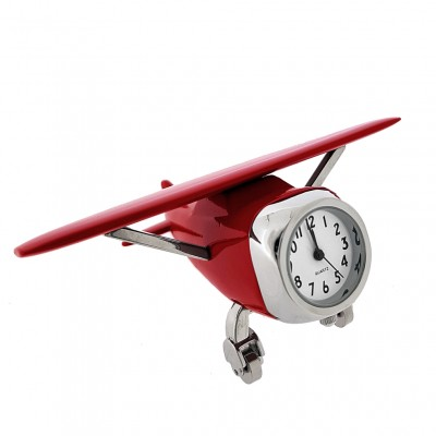 CESSNA AIRPLANE MINIATURE PLANE AVIATION FLIGHT PILOT COLLECTIBLE MINI CLOCK