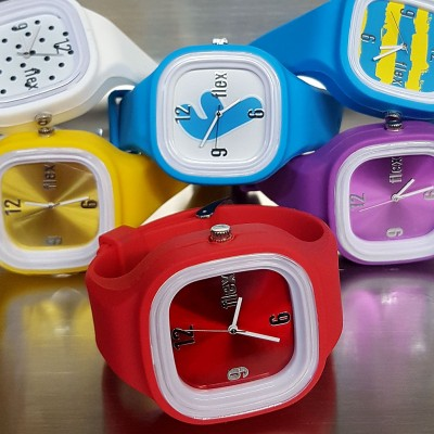 FLEX CLASSIC WATCH INTERCHANGEABLE CASUAL STYLE SILICONE SPORTS WATCH