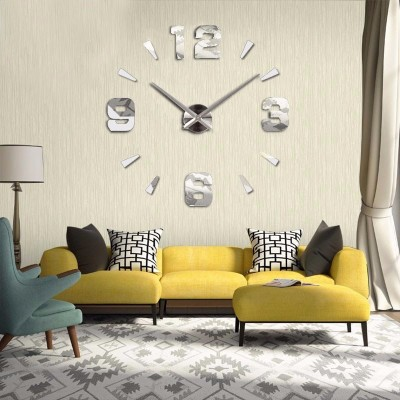 GIANT DIY 3D WALL CLOCK: CLASSIC NUMBERS & MARKERS