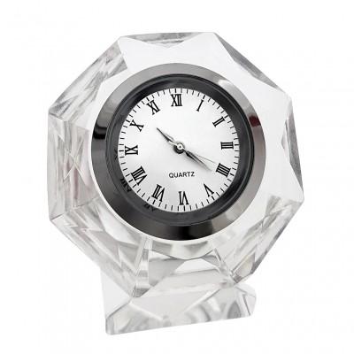 OCTOGON CRYSTAL CLOCK