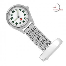Classic Silver Mini Nurses PIN/PENDANT Watch
