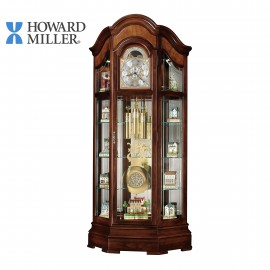HOWARD MILLER CURIO GRANDFATHER CLOCK: MAJESTIC II 610-939