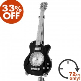 ELECTRIC GUITAR MINIATURE LES PAUL DESK CLOCK SALE