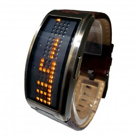 BLACK DICE GURU LED WATCH w/ CURVED CASE & MULTI FUNCTIONS