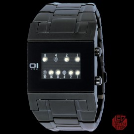 01 THE ONE: KERALA TRANCE - UNDERWORLD Binary LED Watch