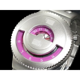 ELEENO JEKYLL & HIDE JAPANESE DESIGNER WATCH BY SEAHOPE RARE & DISCONTINUED WATCHES pink