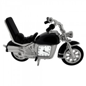 STREET BIKE MOTORCYCLE MINI DESK CLOCK COLLECTIBLE GIFT