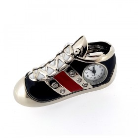 SPORTS SHOE MINI CLOCK COLLECTIBLE DESKTOP GIFT