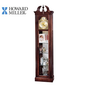 HOWARD MILLER CURIO GRANDFATHER CLOCK: CHERISH 610-614