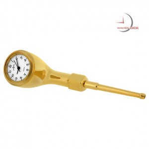 Miniature Clocks Gold PIPE