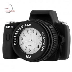 Miniature Clock, Deluxe Black DIGITAL CAMERA