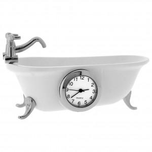 Clawfoot Bathtub Mini Clock