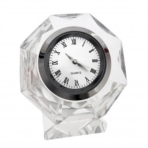 OCTOGON CRYSTAL CLOCK