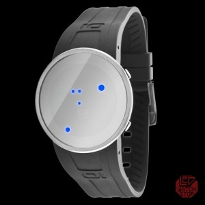 AUTHENTIC 01 THE ONE: ROUND SLIM LED WATCH