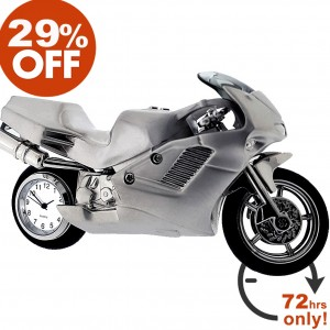 STREET MOTORCYCLE CLOCK SALE