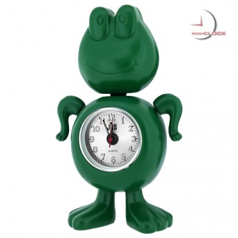 Frog - Wonderful Green Character Alarm Clock - old
