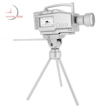 VIDEO MOVIE TV CAMERA MINI CLOCK COLLECTIBLE