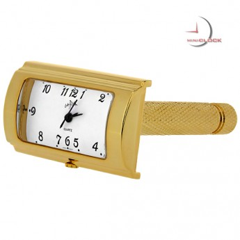 Razor, Shaver Gold Miniature, Mini Clock