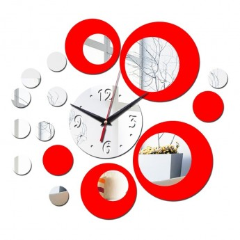 ARTISTIC DESIGNER WALL CLOCK CIRCLE PATTERN  HOME DECOR GIFT IDEA