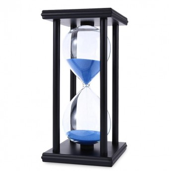 CLASSIC HOURGLASS 60/30 MINUTE SAND TIMER CLOCK DEN OFFICE BEDROOM HOME DECOR IDEA