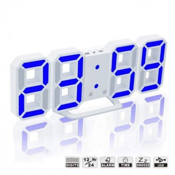 DESIGNER ALARM CLOCK with AUTO NIGHT MODE & SNOOZE