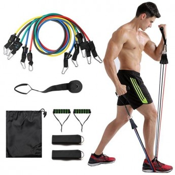 GOOD RESISTANCE BANDS Heavy Duty Stackable Set of Latex Tubes for Exercise and Fitness