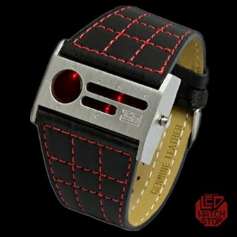 1259B LED WATCH - RED DISPLAY
