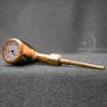 Miniature Clocks Gold PIPE