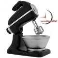 Deluxe Black Kitchen Mixer Miniclock