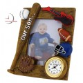 Mini Clock, OUR SON Sports Photo frame
