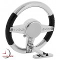 STEERING WHEEL MINIATURE SPORTS CAR COLLECTIBLE MINI CLOCK GIFT IDEA
