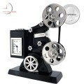 Antique MOVIE PROJECTOR Collectible Mini Clock - Keystone