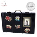 Vintage SUITCASE Travel Theme Luggage Mini Clock