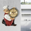 VINTAGE CHEF WALL COCK KITCHEN or RESTAURANT HOME DECOR IDEA