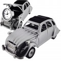 CITROEN 2CV FRENCH VINTAGE CAR COLLECTIBLE MINI DESKTOP CLOCK