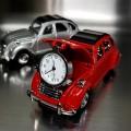 CITROEN 2CV FRENCH VINTAGE CAR COLLECTIBLE MINI DESKTOP CLOCK