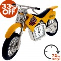 DIRT BIKE CLOCK SALE  33% OFF