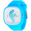 FLEX CLASSIC WATCH BLUE WITH F ON DIAL