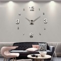 GIANT DIY 3D WALL CLOCK W/ MIXED NUMBERS HOME DECOR
