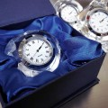 HEART CRYSTAL CLOCK IN GIFT BOX