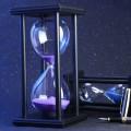 CLASSIC HOURGLASS 60/30 SECOND SAND TIMER CLOCK DEN OFFICE BEDROOM HOME DECOR IDEA