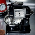KITCHEN MIXER MINIATURE FOOD MIXING HOME APPLIANCE COLLECTIBLE MINI CLOCK
