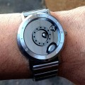 ELEENO LIQUID METAL WATCH w BRACELET