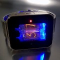 NIXIE TUBE WATCH FEATURING VINTAGE RUSSIAN MILITARY COMPONENTS