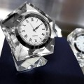 PENTAGON CRYSTAL CLOCK GIFT BOX