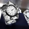 PENTAGON CRYSTAL CLOCK GIFT BOX