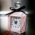PERFUME BOTTLE MINIATURE DIECAST ALARM MINI CLOCK