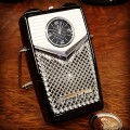 TRANSISTOR RADIO VINTAGE STYLE MINIATURE COLLECTIBLE MINI CLOCK GIFT